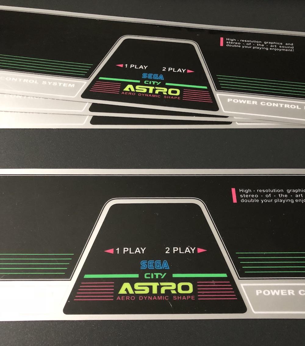 CPO Sega (New) Astro City (2 Players)